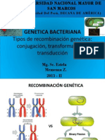 Clase 6ta Genetica Bacteriana