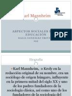 Karl Mannheim Presentacion