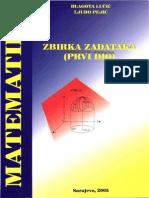 Zbirka Zadataka Iz Matematike I Dio