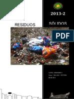Residuos Solidos - Entrega Final