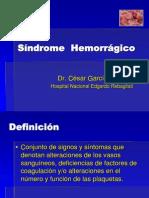 SINDROME HEMORRAGICO