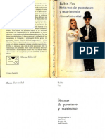 Robin Fox-Sistemas de Parentesco y Matrimonio-Alianza (1980)