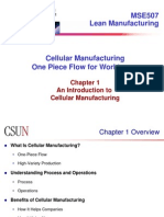 Cellular Manufacturing1