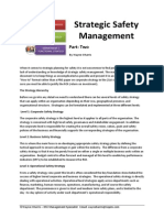 Strategic Safety Management Part 2