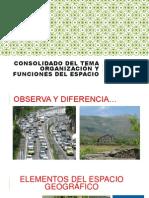 ORGANIZACIÓN Y FUNCIONES DEL ESPACIO