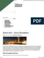 NWO - Sinister Sites – Astana, Khazakhstan