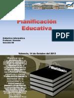 Plan if Icac i on Educativa o Gordon 2013