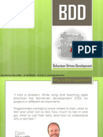 Behaviour Driven Development - BDD INTRO
