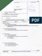 January 15, 2013 - Karen Responsive Declaration for Order - Custody