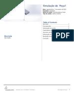 Peça1-SimulationXpress Study-1