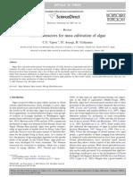 Photobioreactors for Mass Cultivation of Algae 9