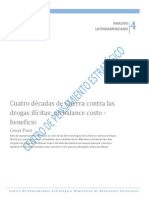 d.Cuatro Décadas de Guerra contra las Drogas Ilícitas Un Balance Costo - Beneficio - Agosto 2012 - Cesar PAEZ