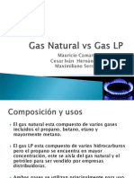 Gas Natural vs Gas LP