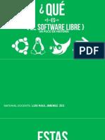 Software Libre Fin
