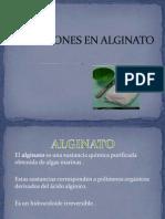 Impresiones en Alginato