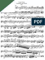 Cantabile and Presto (Flute)