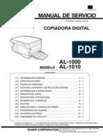 Al 1000 1010 Service Manual
