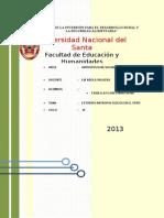 ESTUDIOS ANTROPOLÓGICOS EN EL PERÚ