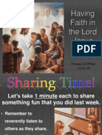29-Having Faith in the Lord Jesus Christ.ppt