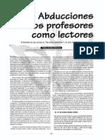 Fabio Jurado Las Abducciones de Los Profesores Como Lectores