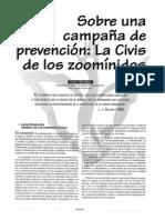 SOBRE UNA CAMPAÑA DE PREVENCIN  LA CIVIS DE LOS ZOOMINIDOS - VICTOR VILLA