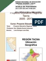 Proyecto Educativo Regional Tacna Luis Loza