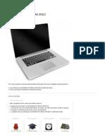 ipad 2 apple technician guide 2011 i pad ios rh scribd com MacBook Pro 2011 Amazon Apple MacBook Pro 2007