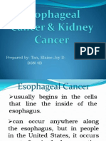 Esophageal Cancer & Kidney Cancer