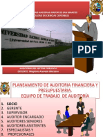 2. Plan Auditoria Financiera y Presupupuestaria