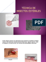 TÉCNICA DE INSECTOS ESTÉRILES