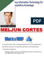 MELJUN CORTES MIS Communication  Advantage