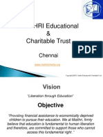 Maithri Trust Presentation