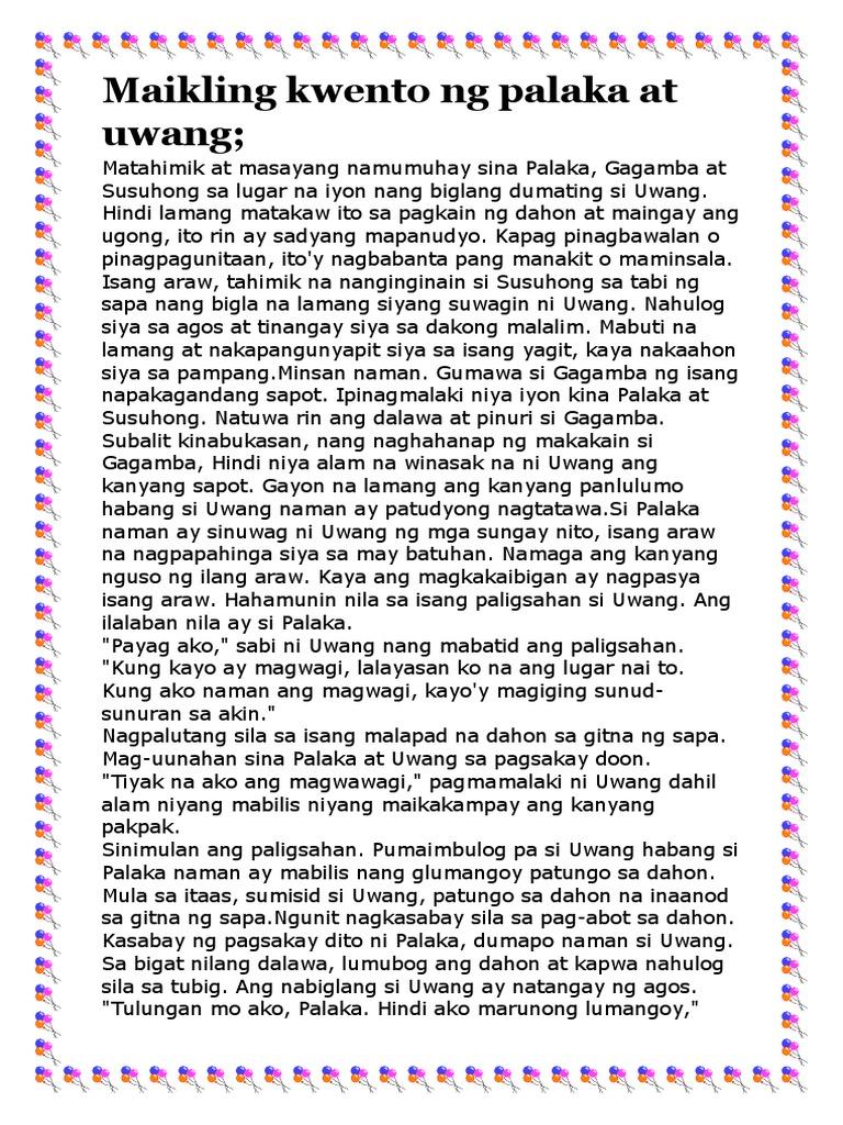 kwentong dula Halimbawa ng pabula: ang aso at ang uwak example of a popular filipino fable: the dog and the crow short children's story in tagalog, english translation.