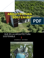arquitectura sostenible ULTIMA