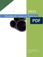 Informe Perdida x Tuberias