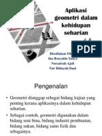 Aplikasi Geometri Dalam Kehidupan