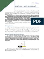 IR Protocol Analyzer - User's Manual