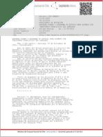 Decreto 1300 Exento 11 Ene 2003