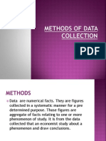 Methods of Data Collection 1 Bbm