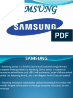 CET Analysis of Samsung