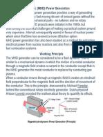 Magnetohydrodynamic System