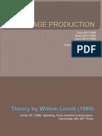 Language Production