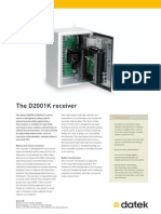 Datek Receiver D2001K