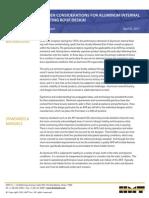 Hidden Considerations for Aluminum IFR Design