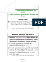 2- Power System Security Monitoring