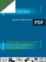 Quantum Salud Concept