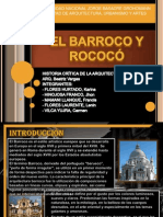 EL BARROCO Y ROCOCÓ