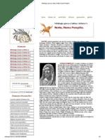 Mitologia Greca e Latina, Notte, Numa Pompilio