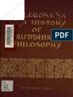 prolegomena to Buddhist philosophy