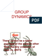 Group Dynamics 1 Ants Exercise